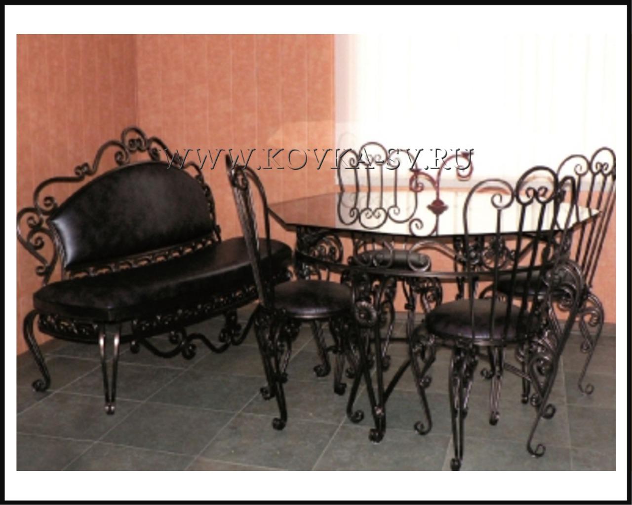Набор стол и стулья №276