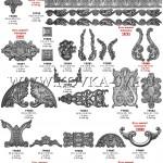 17. декаративные штампованые элементы накладки
