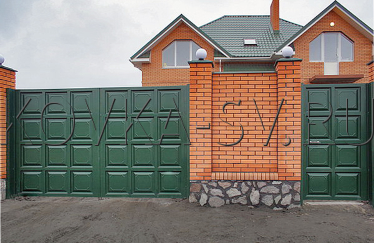Все виды ворот фото 4